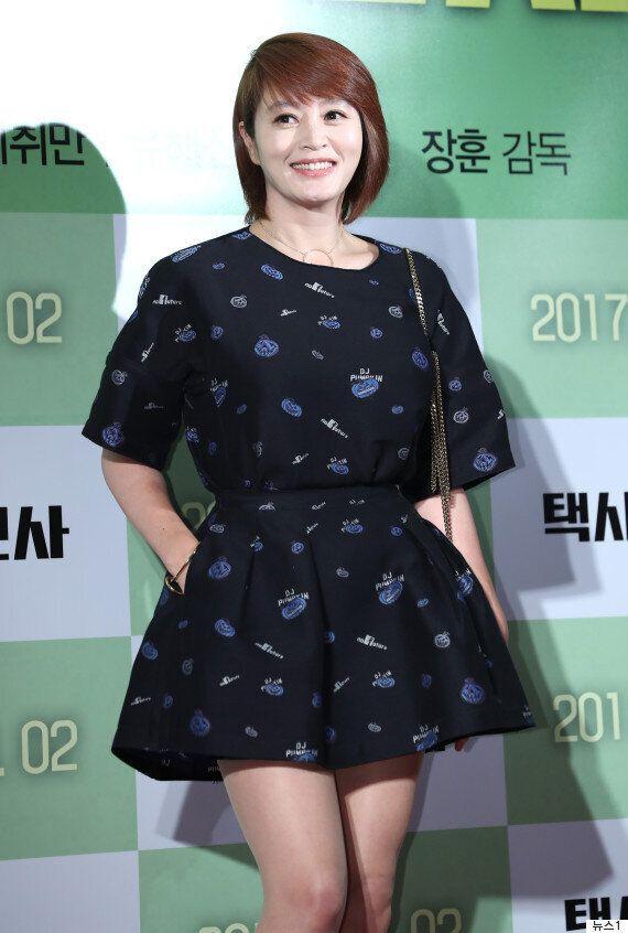 배우 김혜수의 지난 6월 행적이 우연히