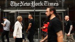NYT 온라인 매출이 인쇄 매출을 첫