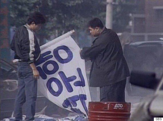 '택시운전사' 보다 20년 전에 나온 '모래시계'는 어떻게 광주의 그 날을