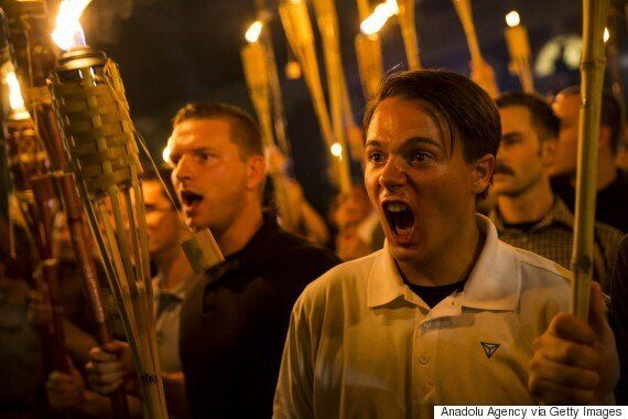 도널드 트럼프는 버지니아주 폭력시위가 백인우월주의자들의 책임이라고 생각하지