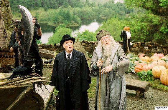 '해리포터'의 마법부 장관을 연기한 배우 로버트 하디가
