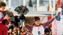 Blanca Fernández Ochoa: una medalla y una sonrisa para la