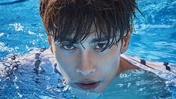 배우 성훈이 '수영 그만둔 이유는 박태환'이라고 말한