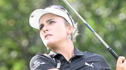 렉시 톰슨이 LPGA 복장규제를 조롱하며 올린