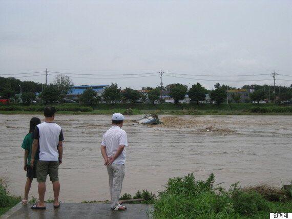 내륙 국지성 폭우에 3명 실종, 이재민