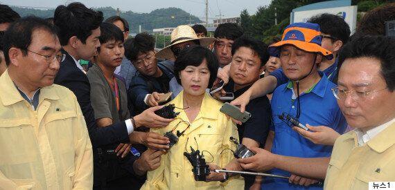 한국당이 '물난리 속 유럽연수' 충북도의원을 전원