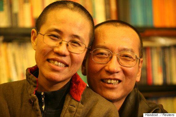 노벨평화상을 수상했던 중국 민주화운동가 류샤오보가