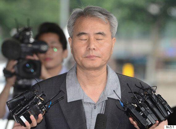 조작된 제보로 기자회견 열었던 김인원 변호사가 억울한 표정으로 한