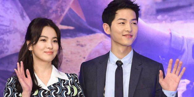 '섹션TV'가 송중기·송혜교 커플에 축하 인사를