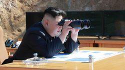 김정은이 ICBM 발사 직후 미국에