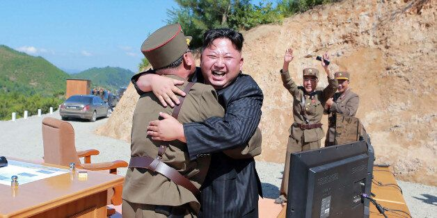 TOPSHOT - This picture taken on July 4, 2017 and released by North Korea's official Korean Central News...