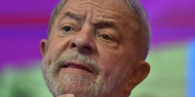 BRASILIA, BRAZIL - JUNE 01: Former President of Brazil Lula da Silva gestures during the 6th National...