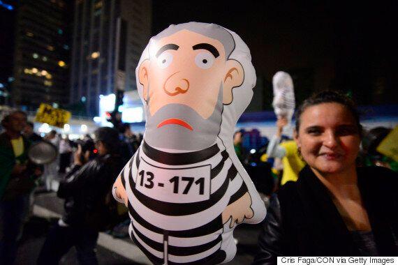 브라질 룰라 전 대통령이 징역 9년6개월을