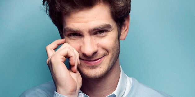 Actor Andrew Garfield poses for a portrait in New York, June 9, 2012. Every young boy dreams of growing...