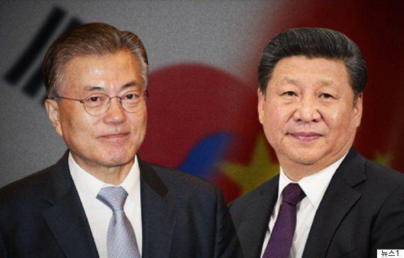 첫 한중정상회담에서 문대통령이 세월호 인양에 감사를