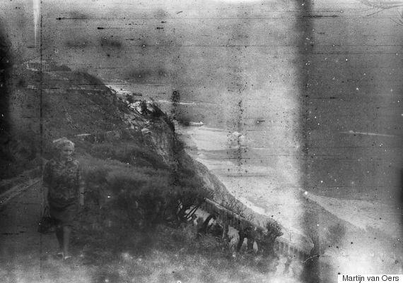 1929년에 생산된 중고 카메라에 들어있던 필름을
