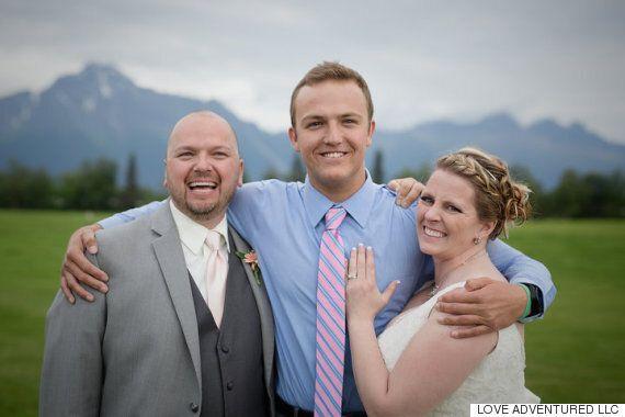 이 신부는 결혼식 당일, 아들의 심장을 가진 남성을