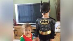 이 남매의 배트맨 사랑은 그 누구도 말릴 수