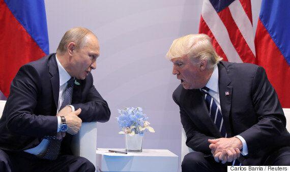 트럼프는 러시아와 '사이버 보안대'를 만들려 한다. 러시아의 대선 개입은 대수롭지 않다고