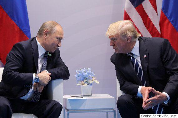 트럼프와 푸틴의 대화 이후 '포토샵 전쟁'에 불이