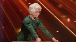91세 할머니가 시몬 바일스를 놀라게