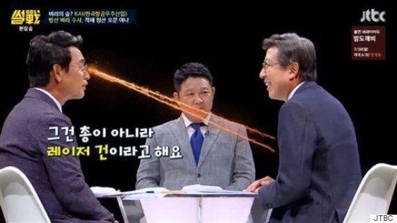 유시민과 박형준이 이명박 정부의 '사자방 비리'를 놓고 치열한 논쟁을