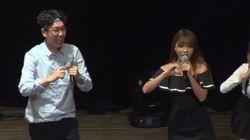 홍진영과 김영철이 청춘을 응원하는 공연을 선보였다