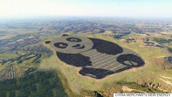 중국이 세계에서 가장 '귀여운' 태양에너지 생산시설을