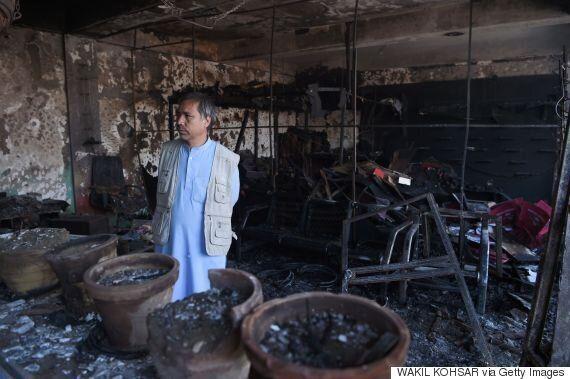 탈레반이 최소 38명이 사망한 아프간 폭탄공격의 소행을