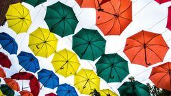 중국의 '우산 공유 서비스'가 완전히 실패한