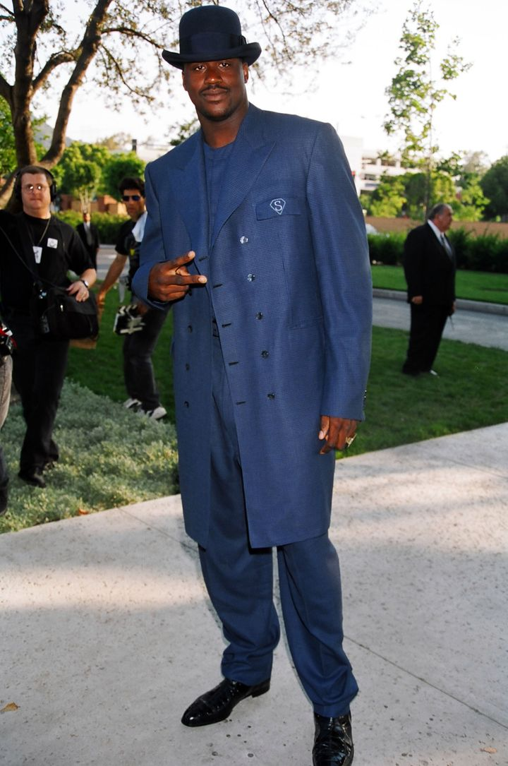 Shaquille O'Neal during 1996 MTV Movie Awards in Los Angeles, California, United States. (Photo by Jeff Kravitz/FilmMagic, In