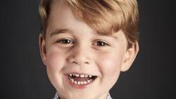 영국 조지 왕자의 새 프로필 사진이