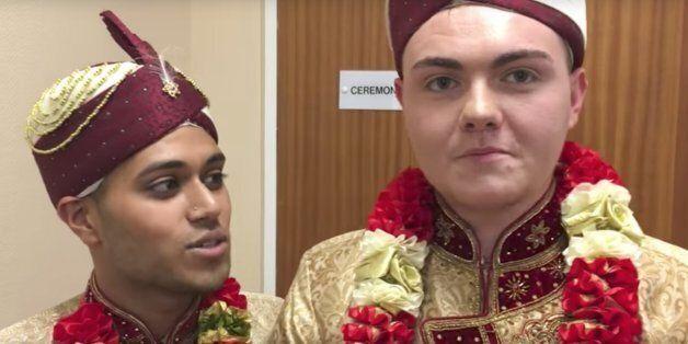 이 커플은 무슬림이자 게이인 것이 가능하다는 사실을 결혼으로
