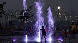 11일 밤은 서울의 올해 첫