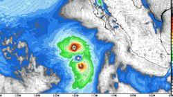 이번 주 거대한 두 개의 태풍이 태평양에서 죽음의 탱고를