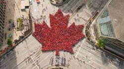 캐나다 건국 150주년을 기념한 인간