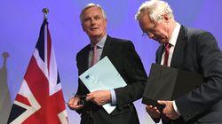 영국-EU 브렉시트 협상 첫날, 영국이