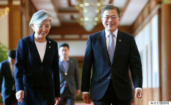 강경화 외교장관이 평가하는 한미정상회담 :