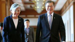 강경화 외교장관의 한미정상회담