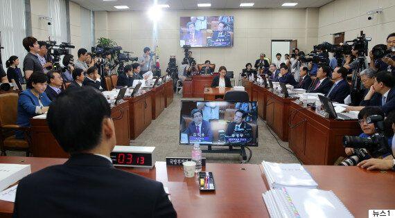 군 당국이 송영무 인사청문회 관련 '내부 문건 유출' 경위 조사에