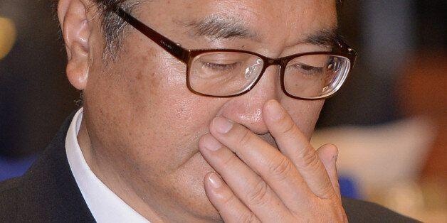민주당 원내대표가 눈물 흘린 것에 대한 국민의당