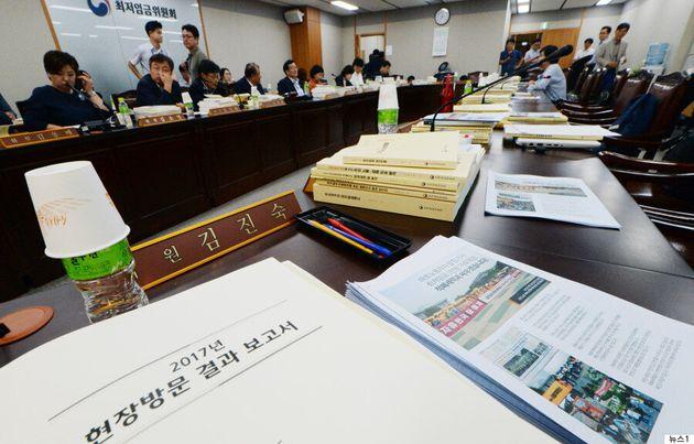 한국경영자총협회가 최저임금 '2.4% (155원) 인상'을 제시하며 꺼내든 논리는