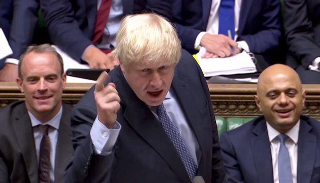 Boris Johnson, ici le 4 septembre au parlement britannique, a subi deux revers importants sur l'épineux...