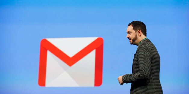SAN FRANCISCO, CA - JUNE 25: Matias Durante, Vice President, Design at Google, speaks on stage during...