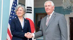 강경화-틸러슨이 첫 회담에서 합의한 것(사진