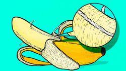 바나나 속 껍질에 붙은 '하얀 실'의