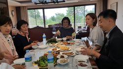 총리 부인, 백남기 농민 유족 총리공관 초청