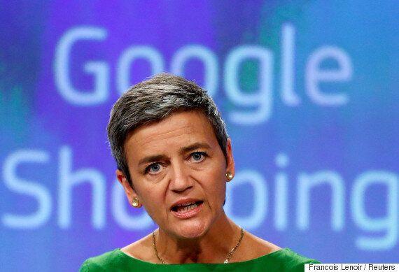 EU가 구글에 '사상 최대' 과징금 부과한