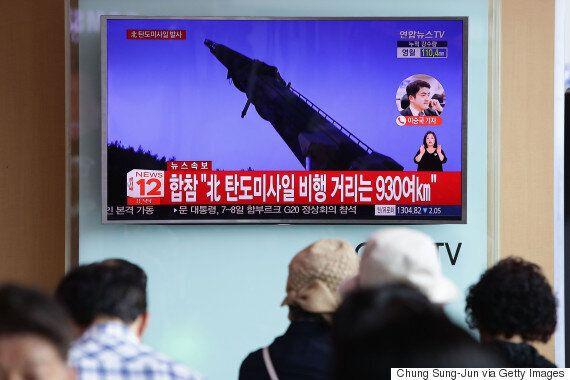 북한이 '대륙간탄도미사일(ICBM)' 시험발사에 성공했다고 선언하다