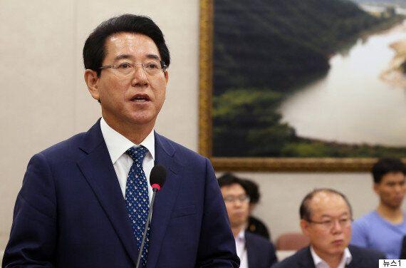 김영록 농축산부 장관 후보자가 청문회를